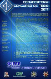 Concurso de Tesis IEEE SCO 2017